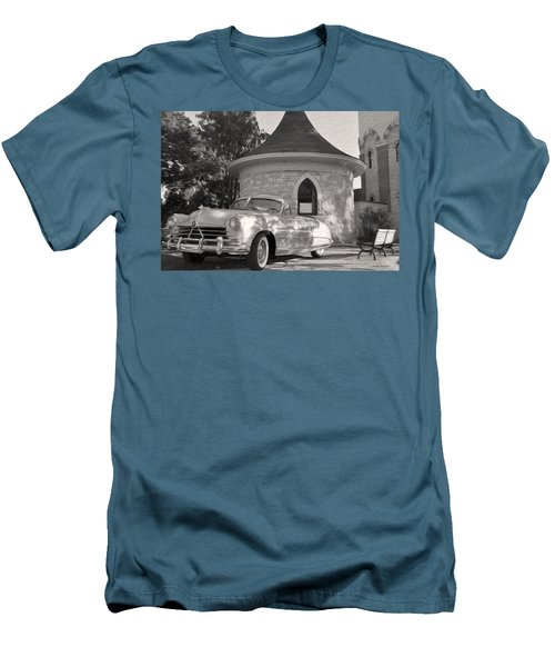 Men's T-Shirt (Slim Fit) featuring the photograph Hudson Commodore Convertible by Verana Stark