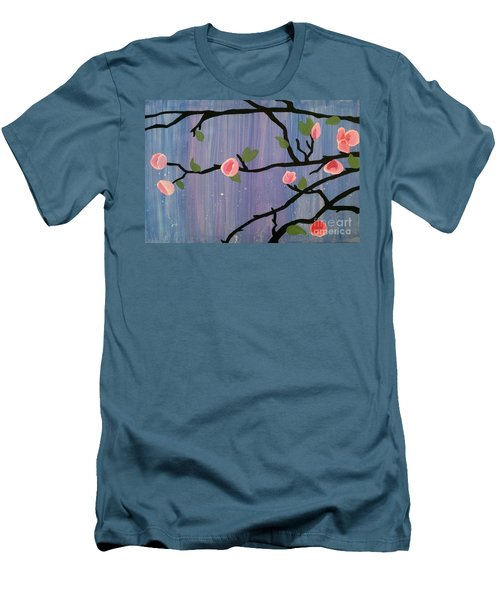 Humble Splash Men's T-Shirt (Slim Fit) by Marisela Mungia