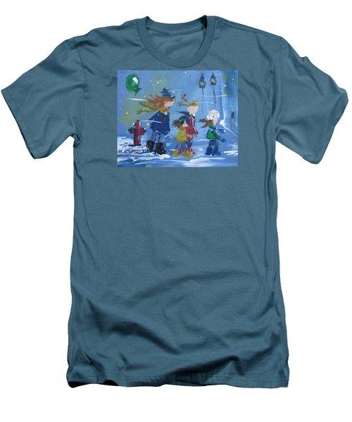 Hurry Home Men's T-Shirt (Slim Fit) by Terri Einer