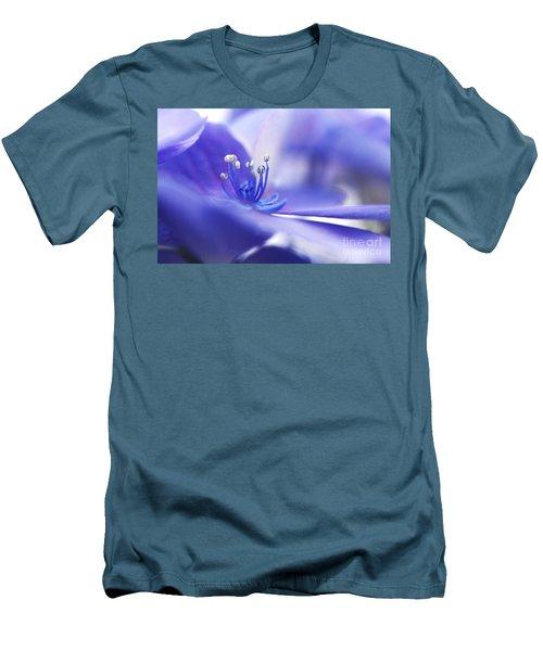 Hydrangea Closeup Men's T-Shirt (Athletic Fit)