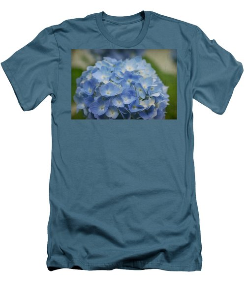 Hydrangea Solitude Men's T-Shirt (Athletic Fit)