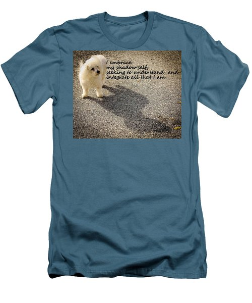 Men's T-Shirt (Slim Fit) featuring the photograph I Embrace by Patrice Zinck