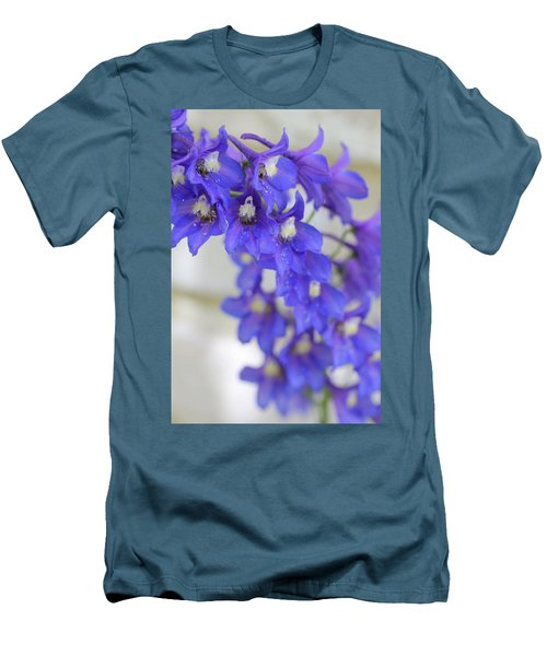 I Got The Blues Men's T-Shirt (Slim Fit) by Ruth Kamenev