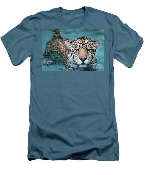 I Love The Water Men's T-Shirt (Athletic Fit)