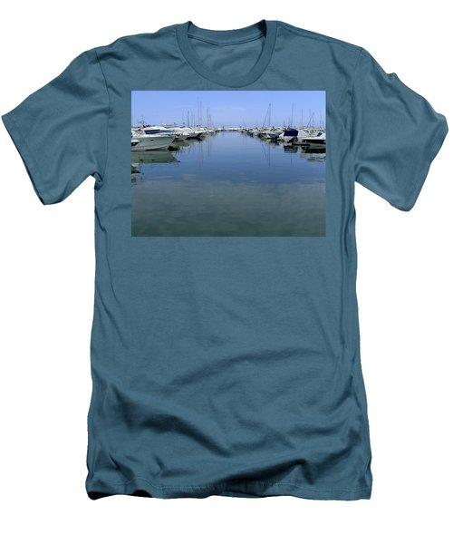 Ibiza Harbour Men's T-Shirt (Athletic Fit)