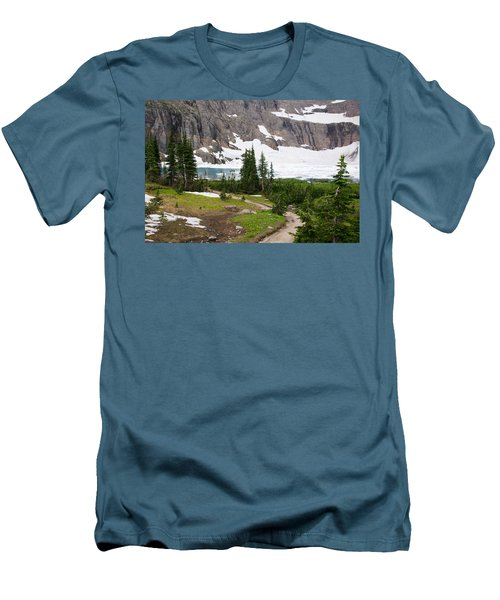 Iceberg Lake Men's T-Shirt (Athletic Fit)