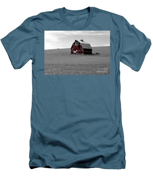 Men's T-Shirt (Slim Fit) featuring the photograph Icon Of The Palouse by Sharon Elliott