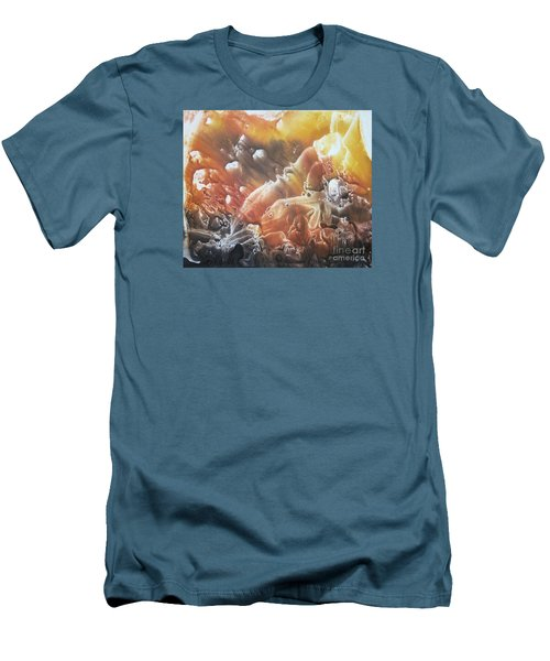 Men's T-Shirt (Slim Fit) featuring the painting Imagination 2 by Vesna Martinjak