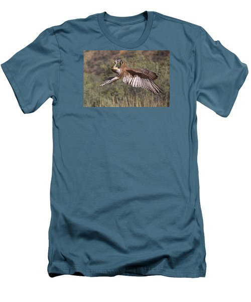 In Flight Meals Men's T-Shirt (Slim Fit) by Venetia Featherstone-Witty