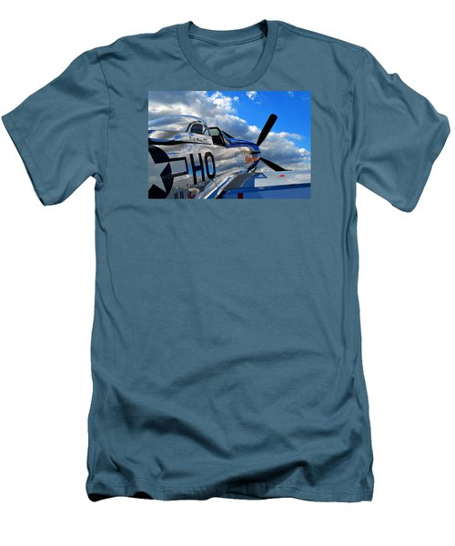 In To The Wild Blue Men's T-Shirt (Athletic Fit)