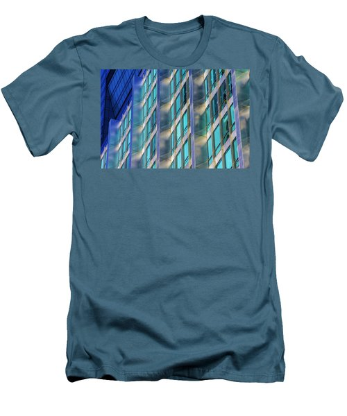 Inland Steel Building Men's T-Shirt (Athletic Fit)