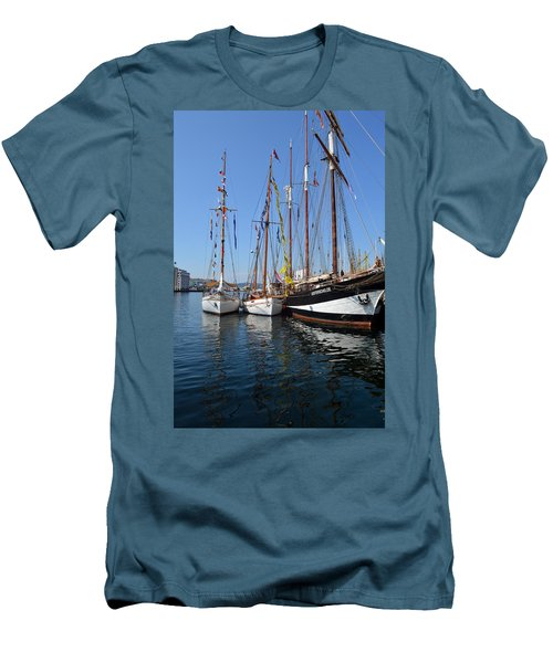 International Sailing Festival In Bergen Norway 2 Men's T-Shirt (Athletic Fit)