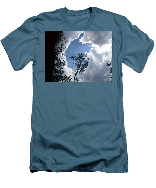 Into The Sky Men's T-Shirt (Slim Fit) by Aimee L Maher Photography and Art Visit ALMGallerydotcom