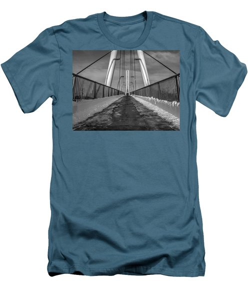 Ipfw Bridge Men's T-Shirt (Athletic Fit)
