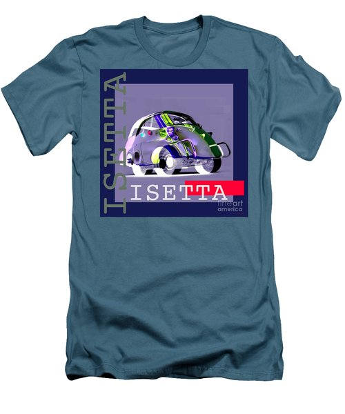 Isetta Men's T-Shirt (Slim Fit) by Jean luc Comperat