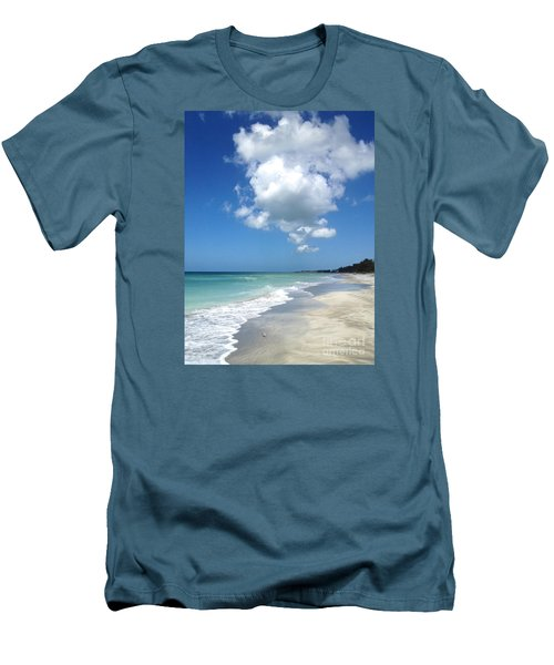 Men's T-Shirt (Slim Fit) featuring the photograph Island Escape  by Margie Amberge