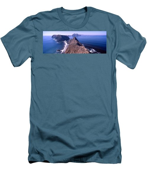 Islands In The Ocean, Anacapa Island Men's T-Shirt (Athletic Fit)