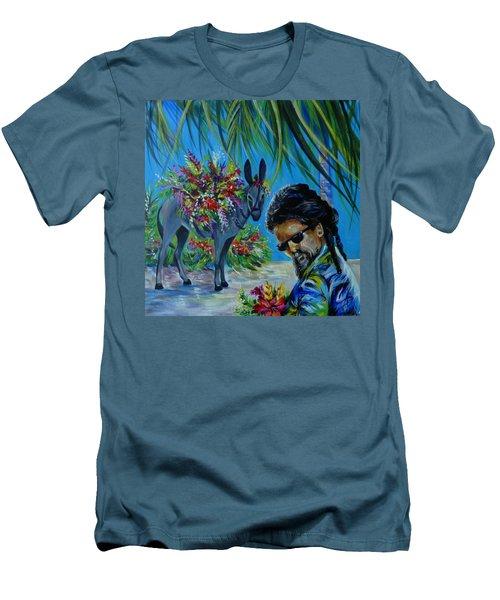 Jamaica.part One Men's T-Shirt (Slim Fit) by Anna  Duyunova