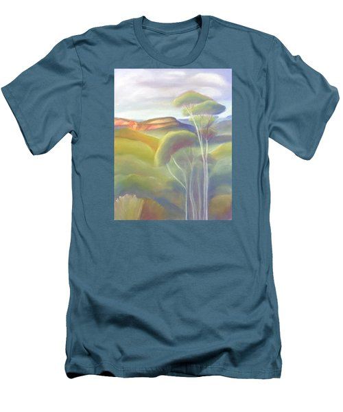 Jamison Valley Blue Mountains National Park Nsw Australia Men's T-Shirt (Athletic Fit)