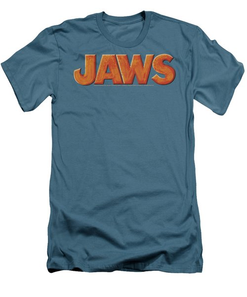 Jaws - Logo Men's T-Shirt (Athletic Fit)