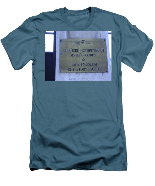 Jewish Museum Of Sofia Men's T-Shirt (Athletic Fit)