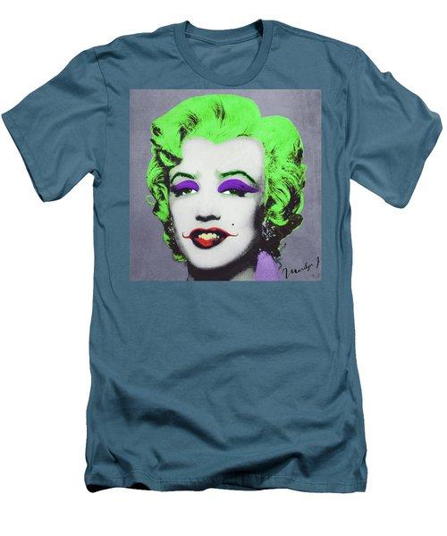 Joker Marilyn Men's T-Shirt (Slim Fit) by Filippo B