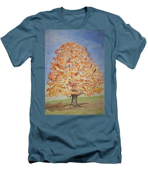 Jolanda's Maple Tree Men's T-Shirt (Athletic Fit)
