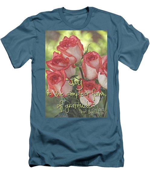 Joyful Gratitude Men's T-Shirt (Athletic Fit)