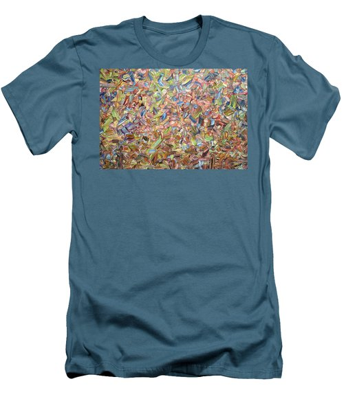 Men's T-Shirt (Slim Fit) featuring the painting June by James W Johnson