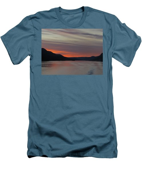 Juneau Alaska Men's T-Shirt (Slim Fit) by Jennifer Wheatley Wolf