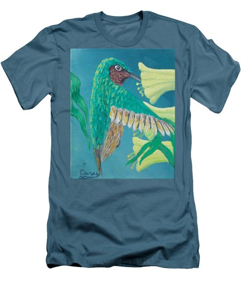 Just A Hummingbird Men's T-Shirt (Athletic Fit)