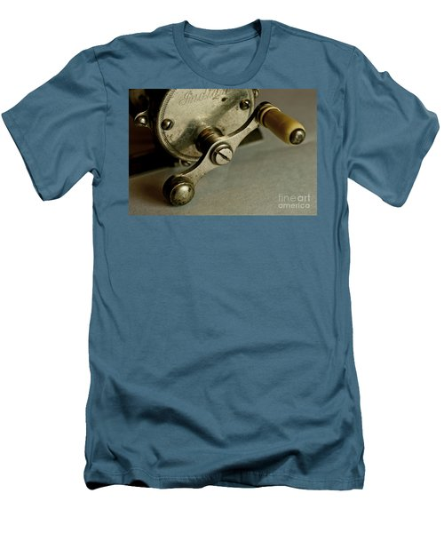 Just Ride Out And Fish Men's T-Shirt (Slim Fit) by Wilma  Birdwell