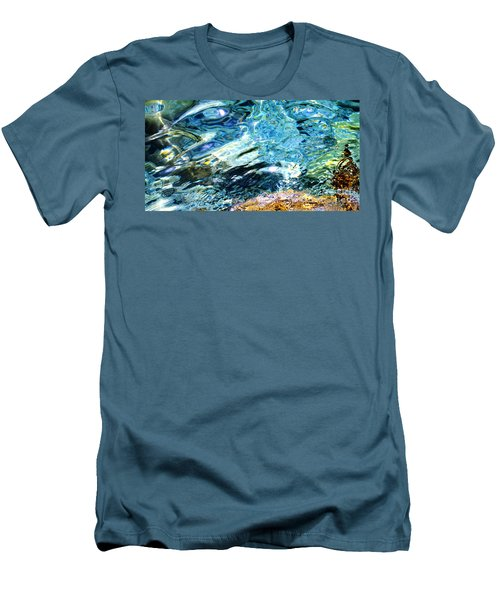 Kanaloa Abstract Men's T-Shirt (Slim Fit) by David Lawson