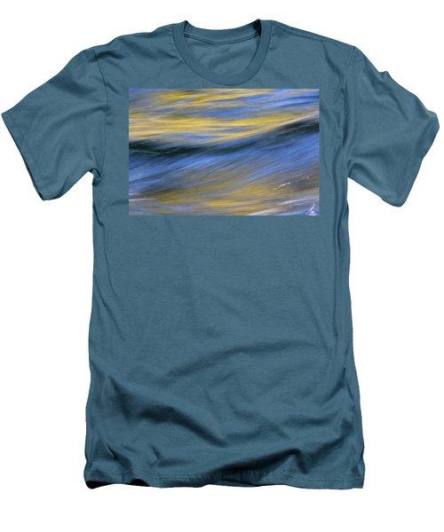 Men's T-Shirt (Slim Fit) featuring the photograph Kawaakari by Cathie Douglas