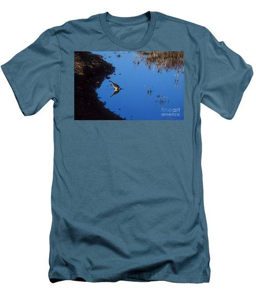 Killdeer Men's T-Shirt (Slim Fit) by Steven Ralser