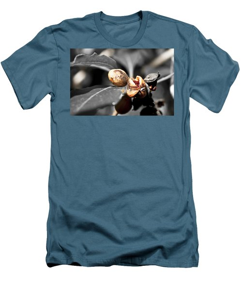 Men's T-Shirt (Slim Fit) featuring the photograph Knew Seeds Of Complentation by Miroslava Jurcik