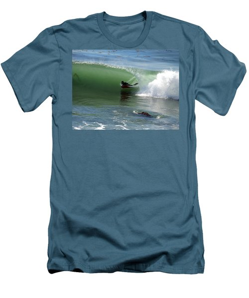 Know What Lies Beneath Men's T-Shirt (Slim Fit) by Joe Schofield
