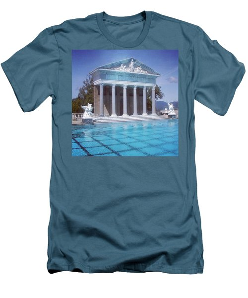 La Dolce Vita At Hearst Castle - San Simeon Ca Men's T-Shirt (Athletic Fit)