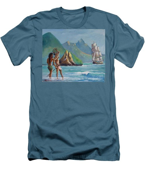 La Rencontre De Deux Mondes Men's T-Shirt (Athletic Fit)