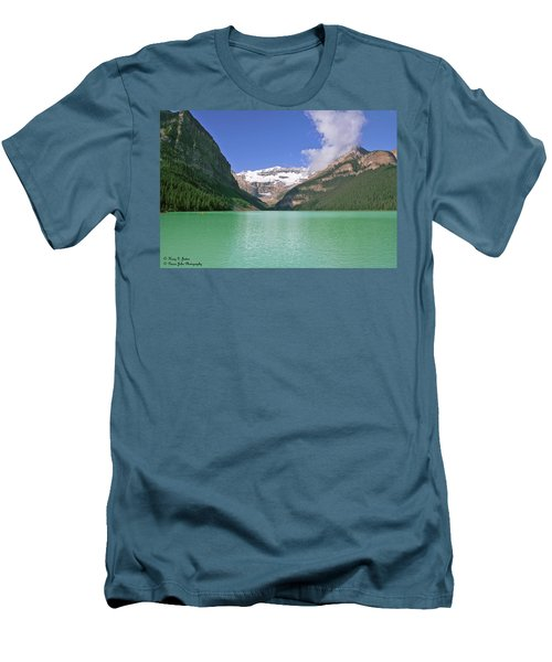 Lake Louise -1 Men's T-Shirt (Athletic Fit)