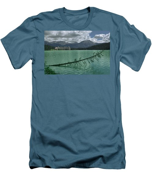 Lake Louise - 2 Men's T-Shirt (Athletic Fit)