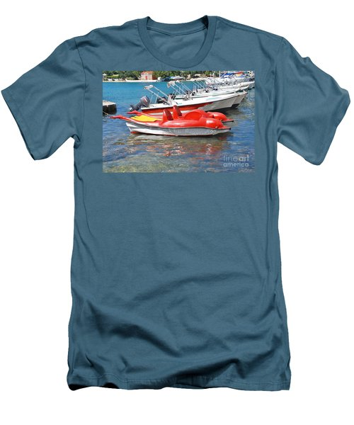 Lakka Harbour Paxos Men's T-Shirt (Athletic Fit)