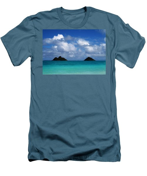 Lanikai Men's T-Shirt (Slim Fit) by Art Shimamura
