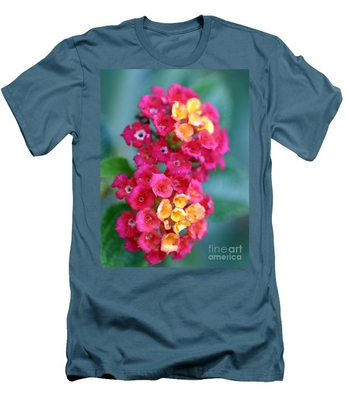 Men's T-Shirt (Slim Fit) featuring the photograph Lantana by Henrik Lehnerer