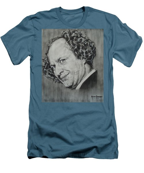 Larry Fine Of The Three Stooges - Where's Your Dignity? Men's T-Shirt (Athletic Fit)