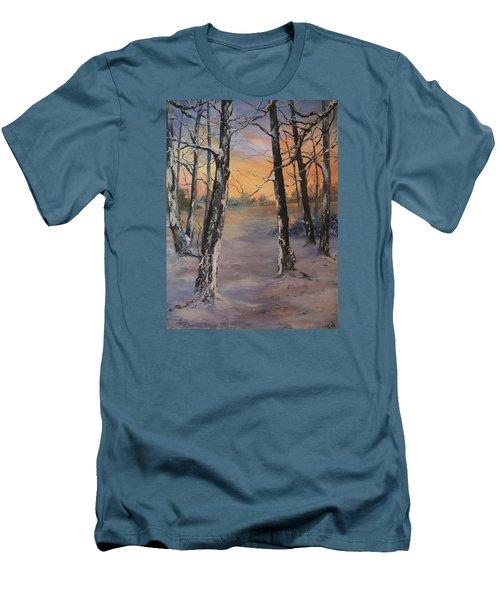 Last Of The Sun Men's T-Shirt (Slim Fit) by Jean Walker