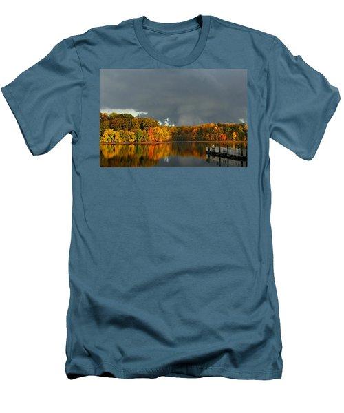 Late Autumn Storm Men's T-Shirt (Athletic Fit)