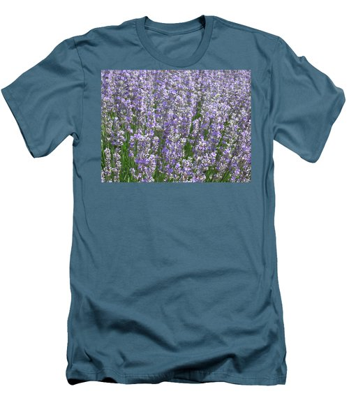 Men's T-Shirt (Slim Fit) featuring the photograph Lavender Hues by Pema Hou