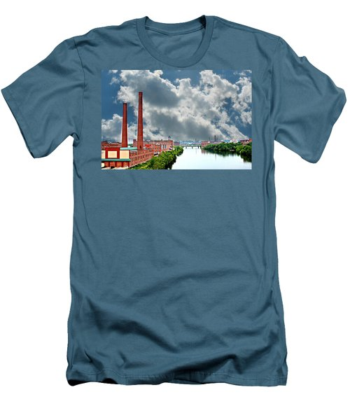 Lawrence Ma Skyline Men's T-Shirt (Athletic Fit)
