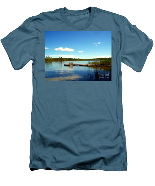 Lazy Summer Day Men's T-Shirt (Athletic Fit)